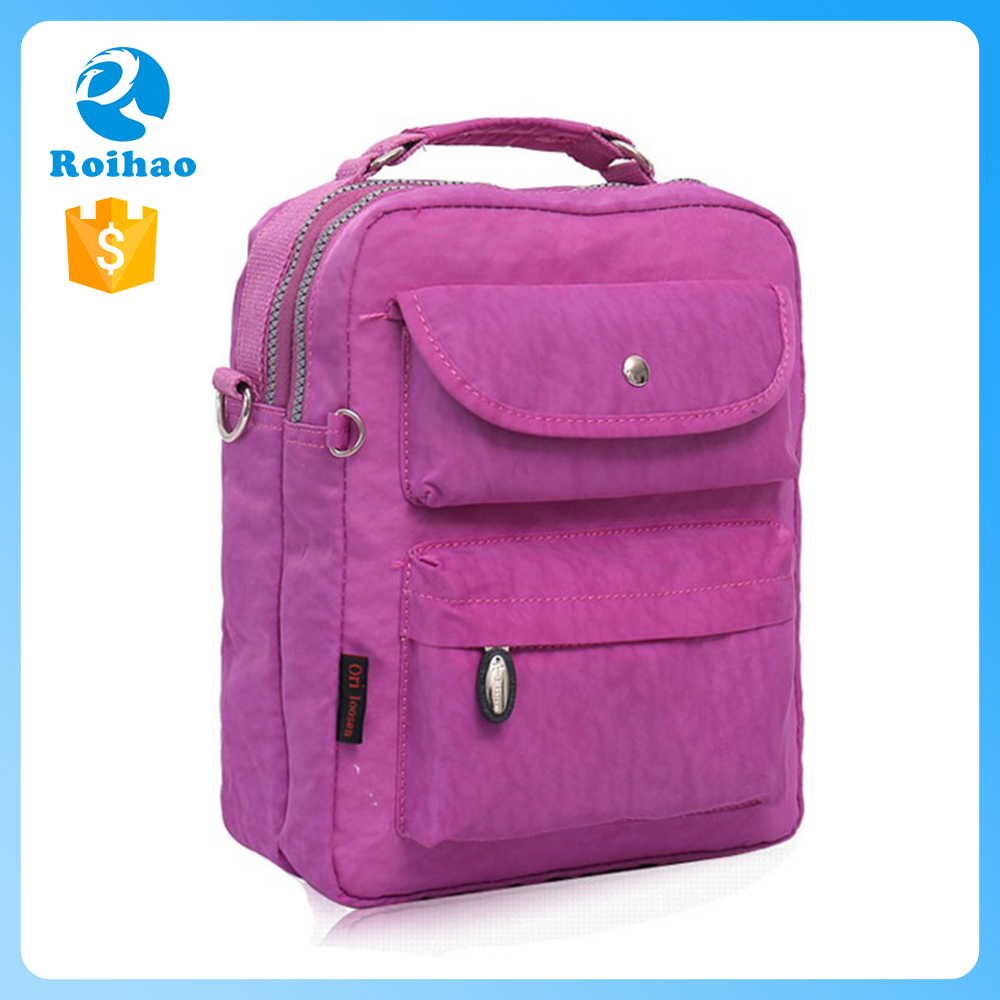 Sales Promotion Latest Design Backpack College Bags Girls
