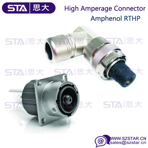 Amphenol High current 120A 1pin Male RTHP series hybrid car Connector RTHP0141PN-H1