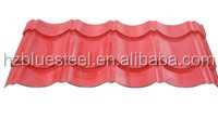 Glazed Metal Roof Tile Sheet / Corrugated Roofing Tile For Sale