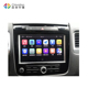 Wholesale Android 2 Din Car DVD Video Player Auto Radio Stereo For VW Touareg Touch Screen With Reversing Camera