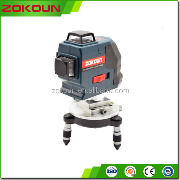 ZKLL12G 6H 6V shockproof technology high precision instruments laser <strong>level</strong> green