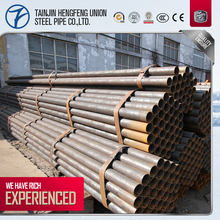 black iron pipe dimensions/black steel pipe