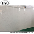 Hot Sale Quartz Artificial Stone, Artifical Quartz Stone Slab, White Engineered Stone