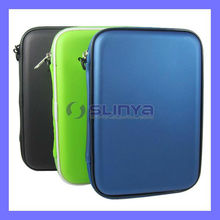 Zip Bag Dust Proof 7 inch Tablet PC Sound Speaker Leather Case for iPad Mini