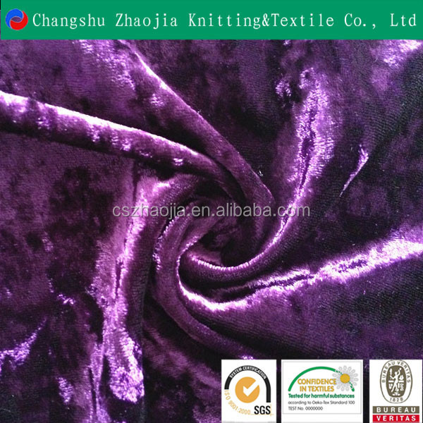 SGS factory China silk-like brim brim Korea velvet fabric for sofa from Chian manufacture