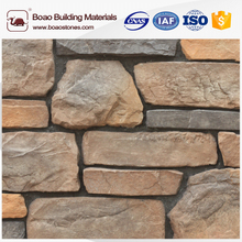 Interior faux ledge rock stone wall tiles
