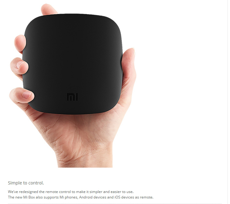 Xiaomi TV BOX 1GB RAM media player hd video 1080p Smart android tv box