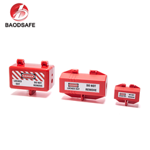 BAODI New Design Durable Industrial Safety Lockout Electrical Plug Locking Device