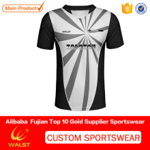 Custom made man printed united team soccer mesh jersey for sports