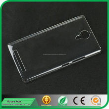 high quality mobile phone transparent case crystal back cover for Lenovo K80