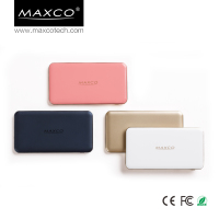MAXCO smartphone travel power bank external battery charger