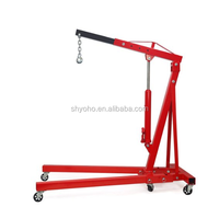 1 Ton Hydraulic Engine Hoist Shop Crane for Sale with CE,used shop crane