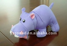 PVA particle hippo toy /pillow
