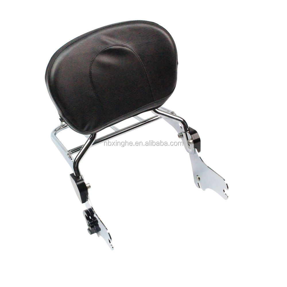 Detachable Backrest Sissybar and luggage Rack for Harley Davidson Touring 1997-2008
