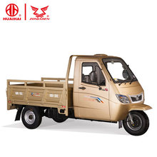 mini chinese truck 250cc zongshen enginegas powered adult tricycle with cabin