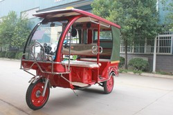 E- rickshaw for passenger with iron roof / E-rickshaw taxi / hot sales in Bangadash market