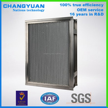 Chinese hepa purifier air filter manufacturer in food sterilizing, chemical, electronic, film industries
