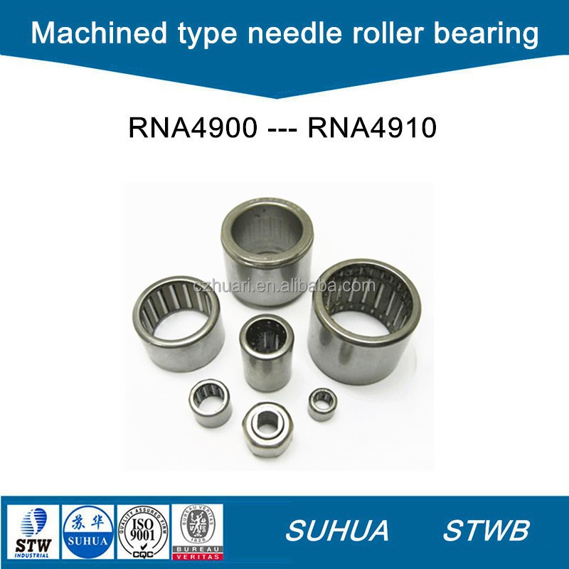RNA4900 series machined type needle roller bearing without inner ring