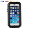 Luxury Dustproof Shockproof Waterproof Aluminum Gorilla Glass Metal Protective Cell Phone Cover Case for iPhone7 7 plus