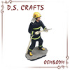 Custom Firemen Uniform Action Factory,High Quality Action Resin Figure