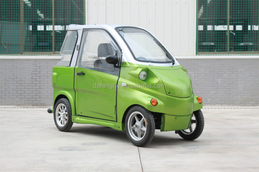 Dafenghe Cheap Price Low Speed Mini Electric Car For Old People ...