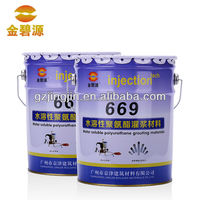 Hydrophilic Chemicals Polyurethane Injection Waterproofing Products