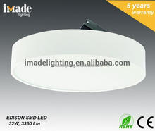Surface mounted Light 30 degree tiltable Aluminum SMD LED PC diffuser ceiling light