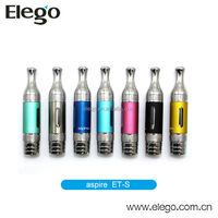 Wholesale 2014 Newest Bottom Dual Coil Atomizer Aspire ET-S BDC clearomizer