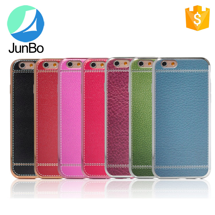 Hot sale leather case for iphone 6 electronic pc hard case cover