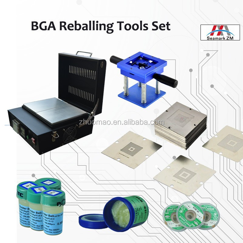 SMT Line automatic bga rework machine tools equipment ZM-R6500 for X399 SP3R2 4094 PIN slot repairing
