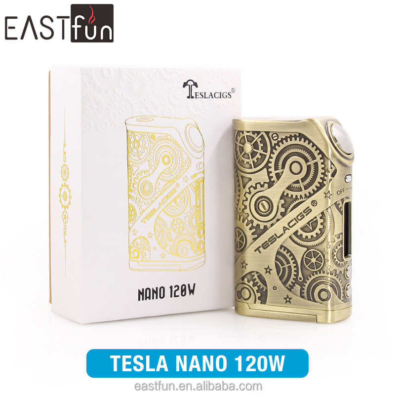 EASTFUN Exclusive vape Tesla NANO 120W TC BOX MOD in Stock