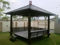 Gazebos made from solid teak wood at reasonable prices