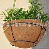 All type of size coir wall hanging baskets