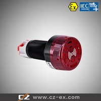 Explosion proof (flash) buzzer for panel mounting