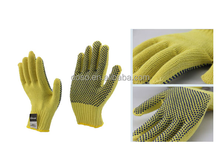 Dotted Cotton cut resistant Work Safety HandGloves(Doso012)
