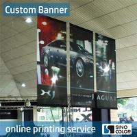 Custom material Printed Type Light fabric outdoor vinyl banners