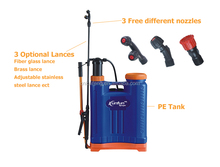 kaifeng 2014 20L backpack sprayer rechargeable airless paint sprayer