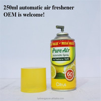 250ml automatic scent air freshener spary for room