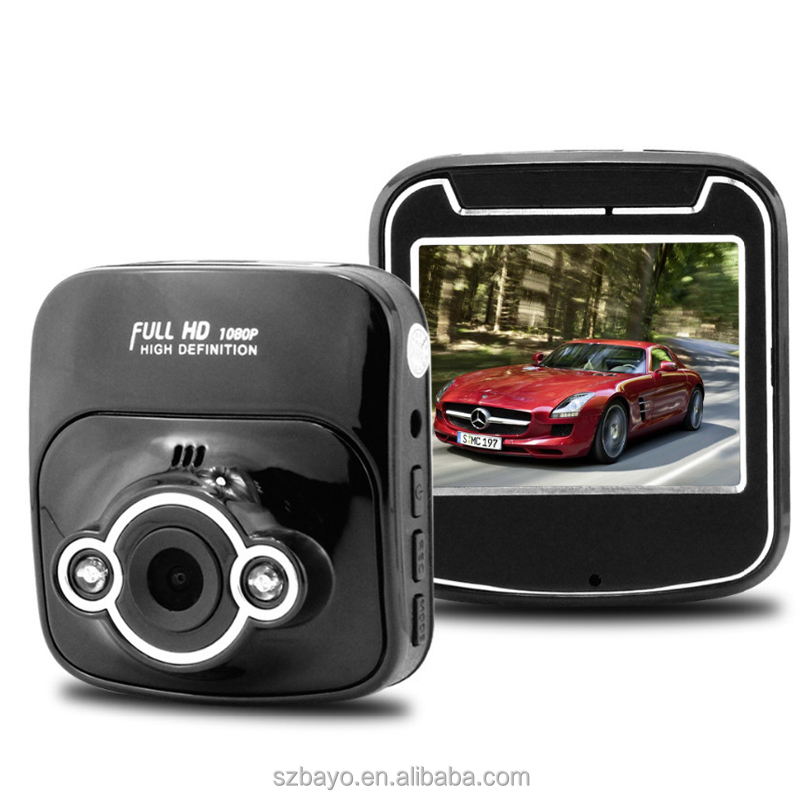 HD 1080p car dvr car black box best dash camera with Motion detect,G-Sensor,Cycle Recording