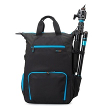 Wholesale Vintage Waterproof Nylon Stylish Digital Dslr Camera Bag Backpack for Travel