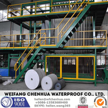 SBS/APP modified bitumen waterproofing material machine manufacturing equipment