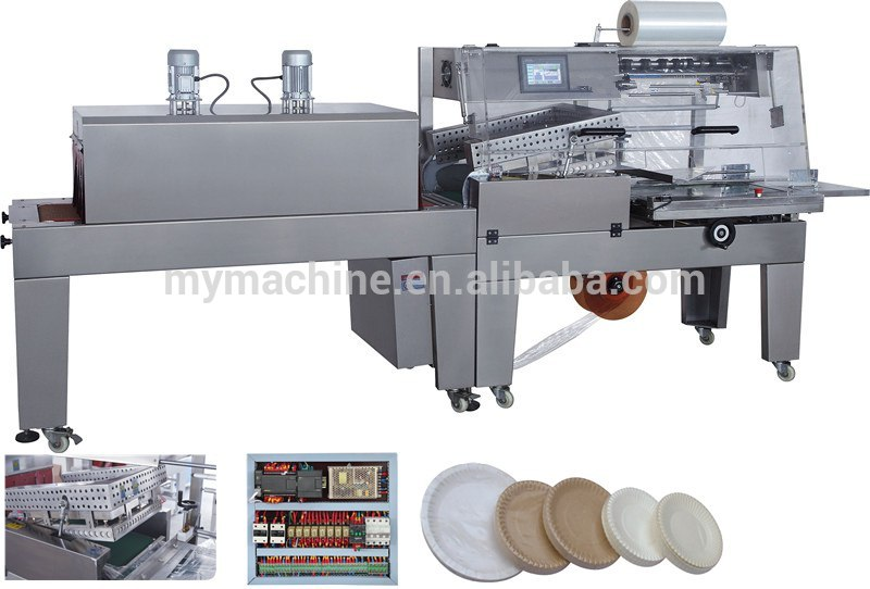 2014 newest design tray wrapper shrink packaging