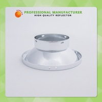 Custom Light Accessories Printing Logo Aluminum Downlight Reflector