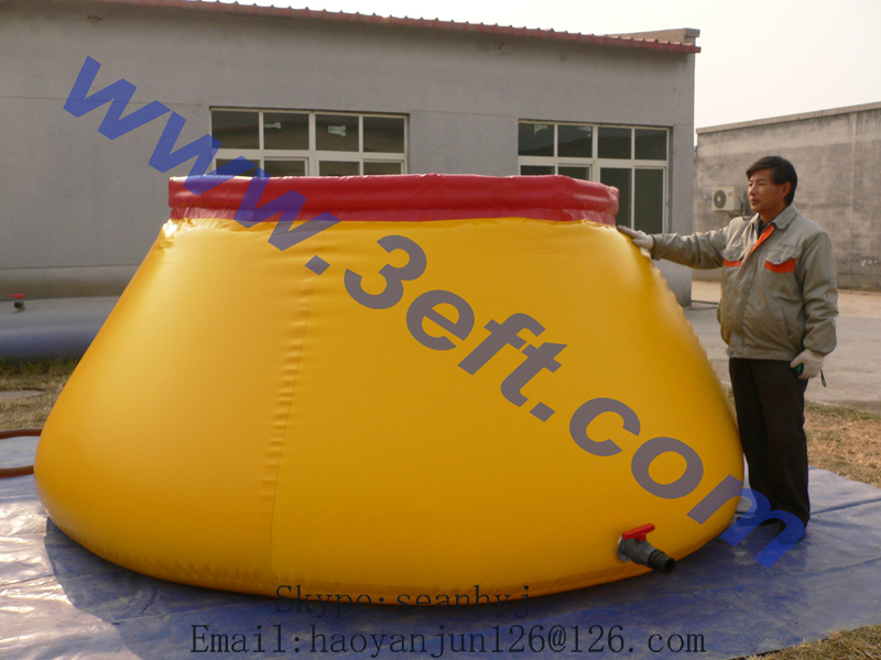 100L to 10000L Onion Collapsible pvc agriculture water tank