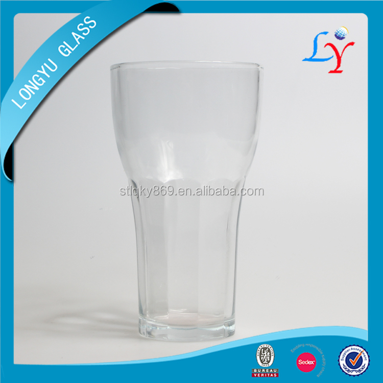 Old Fashioned Glassware Cup Glass Glass Beer or Tea Cup Manufacture Cheap Glass Cup