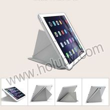 G-CASE Milano Series Smart Wake Sleep Foldable Flip Stand PC+PU Flip Cover for iPad Air 2 Leather Case Wholesale