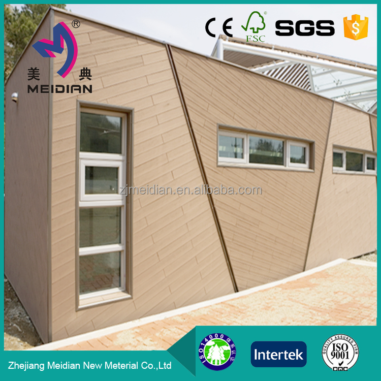 Weather resistant engineered wpc faux wood siding buy for Fire resistant house siding material hardboard