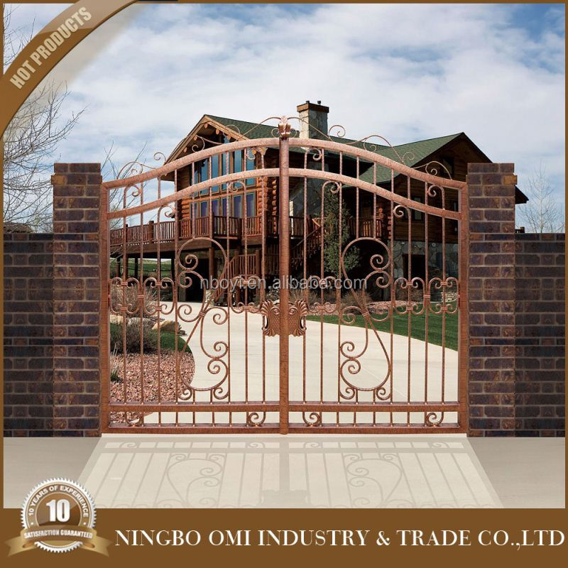 Simple Design Cheap Price Metal Garden Arch With Gatehouse Main