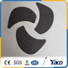 Low carbon steel black wire mesh cloth