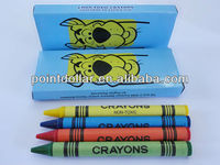 wax crayon, oil paint painting color drawing set, 4 pcs crayon drawing set